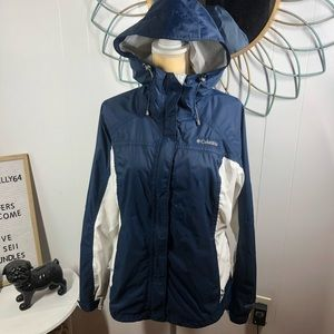 Columbia Omni-Tech Waterproof Rain Jacket LG
